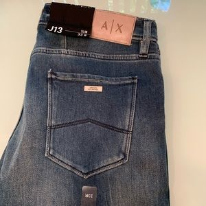 Armani Exchange NWT J13 33/30.5 slim